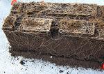 substrato colturale terriccio / in sacchi / per l'agricoltura biologica / per funghi