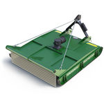 trinciatrice rotante forestale / montaggio posteriore / su presa di forza