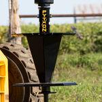 rotolone di irrigazione per fili / con motore idraulico