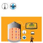 sistema di sorveglianza per cereali / per silo / di raccolta / di temperatura