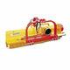 trinciatrice ad asse orizzontale su trattore / a flagelli / forestale
