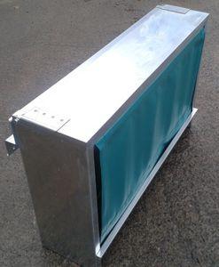 子牛用かいばおけ / 電気めっき亜鉛鋼板製 / マルチアクセス / 壁掛け式