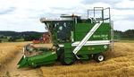 穀物用プロットコンバイン