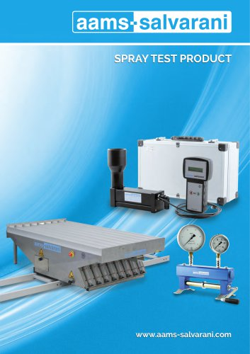 SPRAY TEST PRODUCT 2016