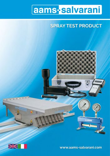 SPRAY TEST PRODUCT 2017