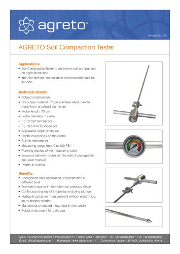 Soil Compaction Tester