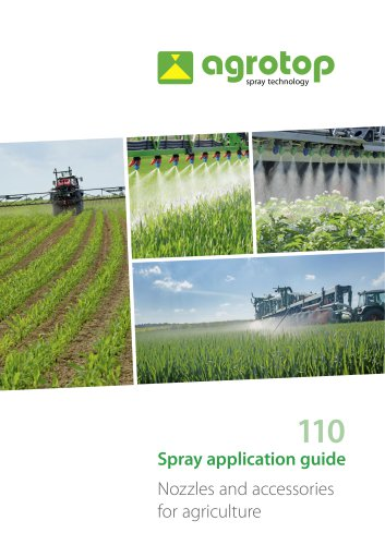 Spray application guide