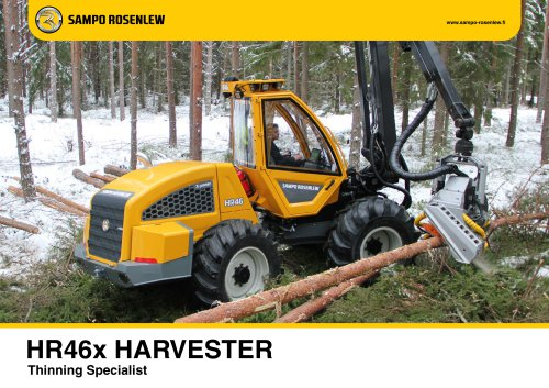 HR46X HARVESTER