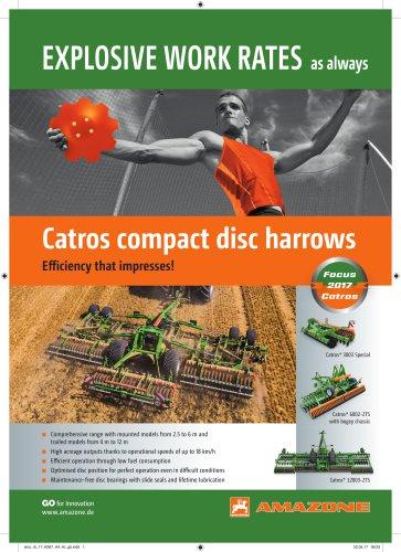 Catros compact disc harrows
