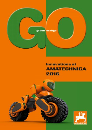 Leaflet Innovations at AMATECHNICA 2016