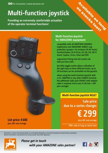 Multi-function joystick NI167