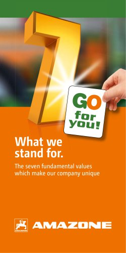 Our fundamental values