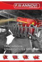 straw cutter & spreader