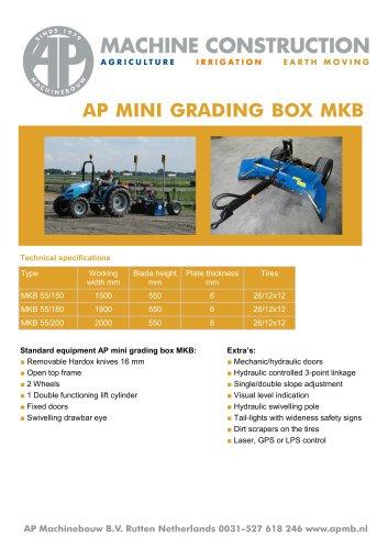 AP MINI GRADING BOX MKB