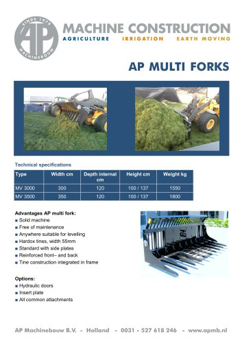AP MULTI FORKS