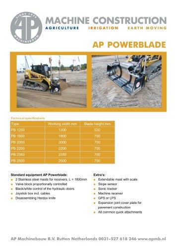 AP POWERBLADE