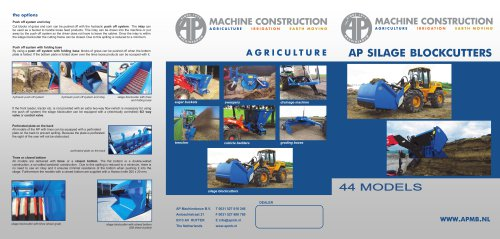 AP Silage Cutter general
