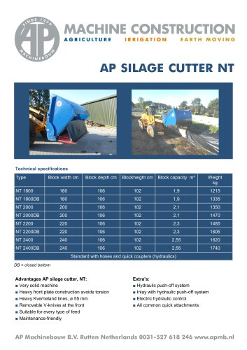 AP Silage Cutter NT