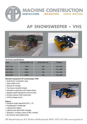 AP SNOWSWEEPER - VHS