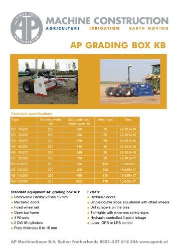Grading boxes KB