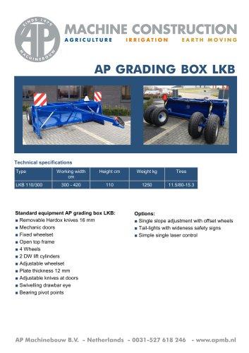 Grading boxes LKB