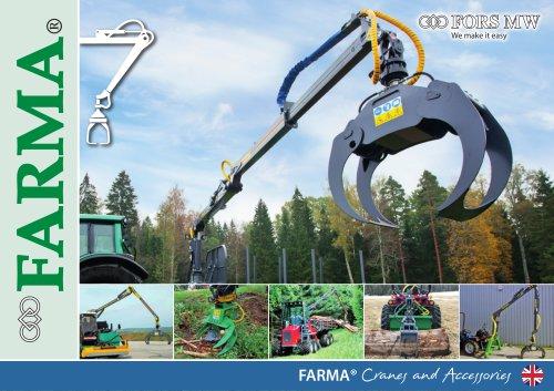 FARMA® Cranes and Accessories