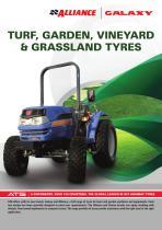 TURF, GARDEN, VINEYARD & GRASSLAND TYRES