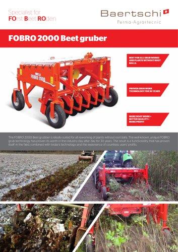 FOBRO 2000 Beetroder