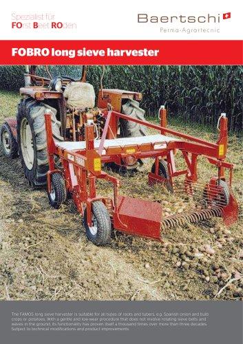 FOBRO long sieve harvester