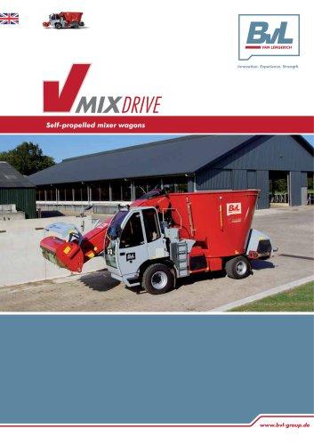 self-propelled mixer wagon V-MIX Drive Maximus Plus