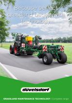 Because perfect grassland begins with technology.