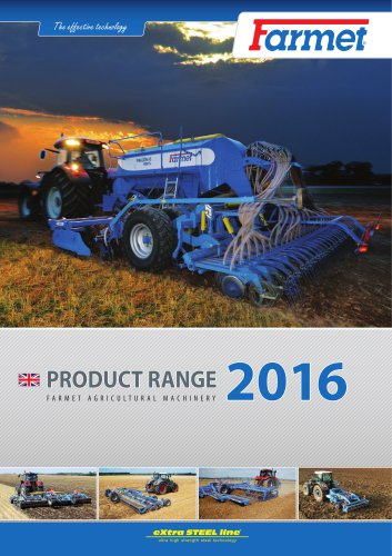 Product range 2016