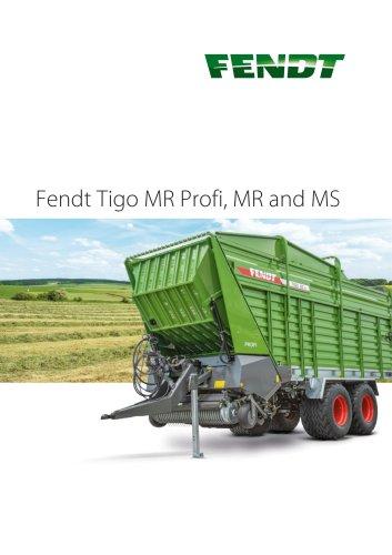 Fendt Tigo MR Profi, MR and MS
