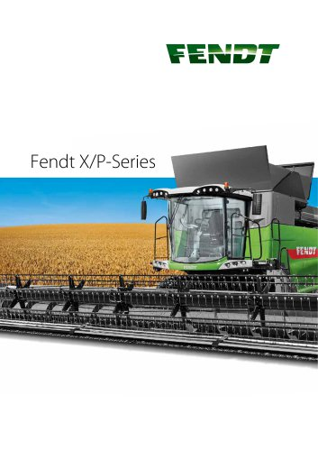 Fendt X and P-Series