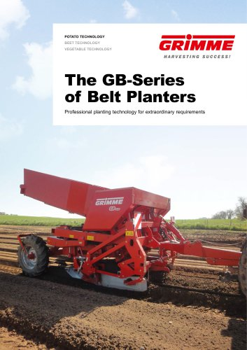 The GB-Series of Belt Planters