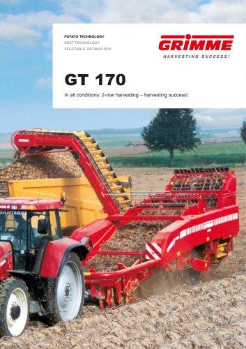 GT 170 elevator harvester