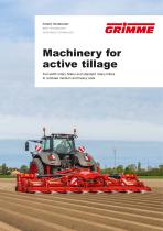 Machinery for active tillage