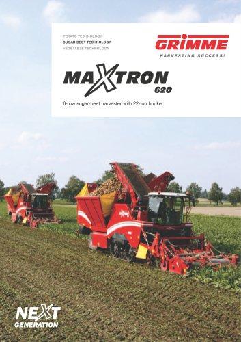 MAXTRON 620 beet harvester