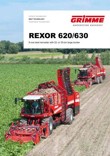 REXOR 620 / 630 beet harvester