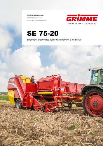 SE 75-20 bunker harvester