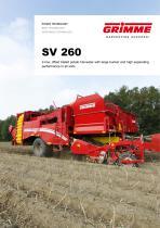 SV 260 bunker harvester