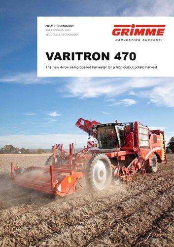 VARITRON 470 self-propelled potato harvester