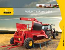 Highline Product Catalogue 2016