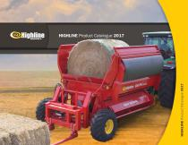 HIGHLINE Product Catalogue 2017