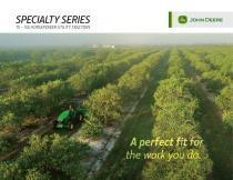 Specialty Tractors