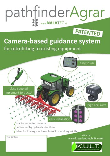 Nalatec Pathfinder Agrar - camera system