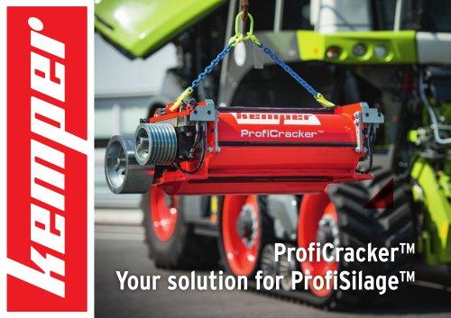 ProfiCracker™  Your solution for ProfiSilage™