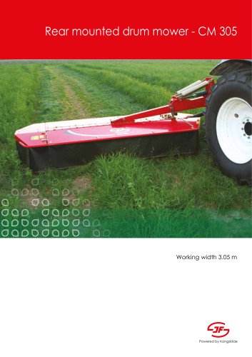 Rear mounted drum mower - CM 305