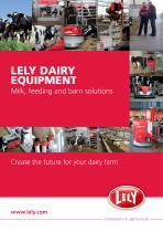 lely dairy equipement