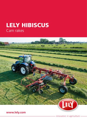 LELY HIBISCUS Cam rakes